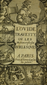 Pepys ibrary L'Ovide Bouffon